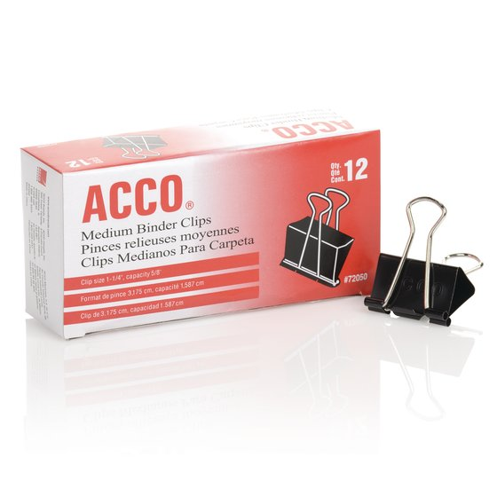 ACCO® Binder Clips