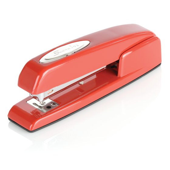 Swingline 747 Rio Red Stapler, 25 Sheets, Red