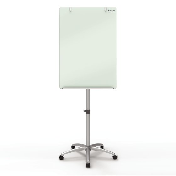 Diamond Glass Mobile Magnetic Flipchart Easel