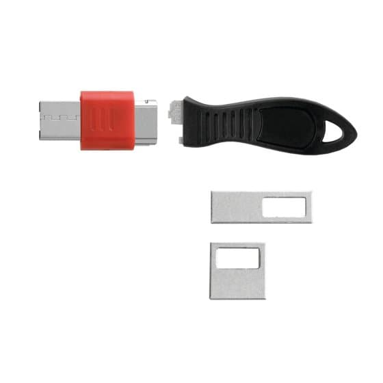 USB Port Lock with Blockers