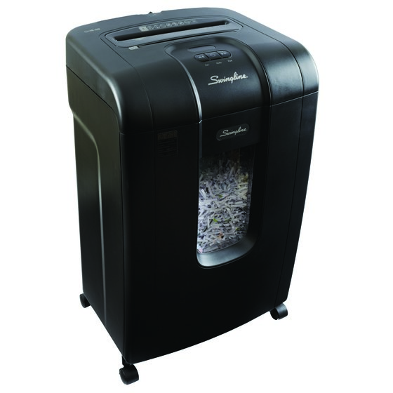 Swingline® SX19-09 Super Cross-Cut Jam Free Shredder, 19 Sheets, 1-10 Users