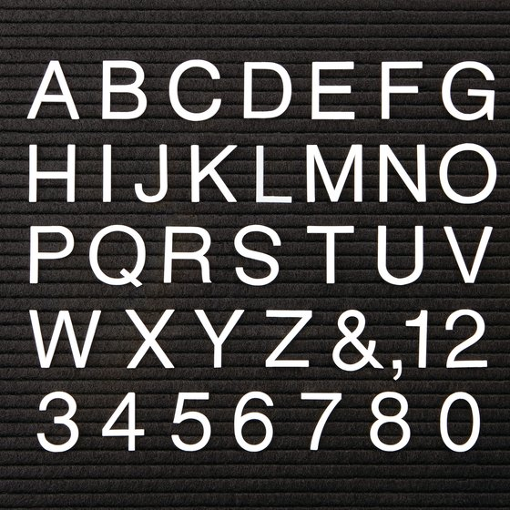 Quartet® Characters for Felt Letter Boards