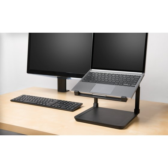 kensington produits ergonomie supports cran et rehausseurs pour portables rehausseur. Black Bedroom Furniture Sets. Home Design Ideas