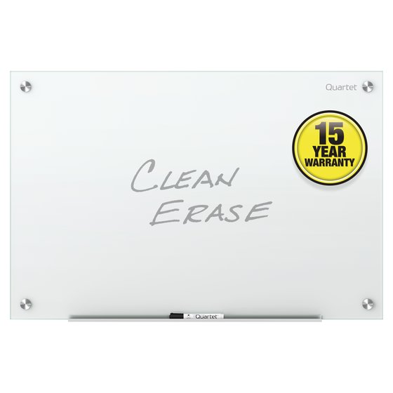 Quartet Infinity™ Glass Dry-Erase Boards, White Surface