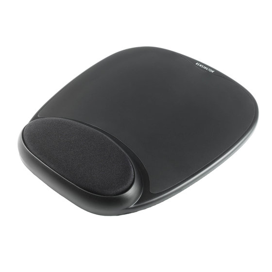 Comfort Gel Mouse Pad — Black