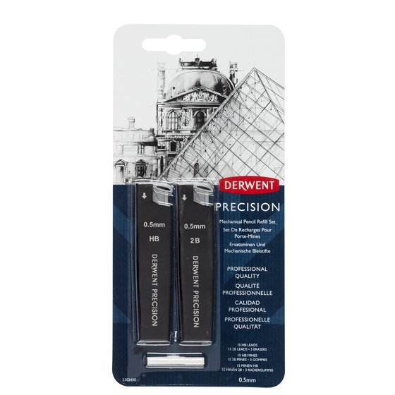 Precision Mechanical Pencil 0.5 Refill Set