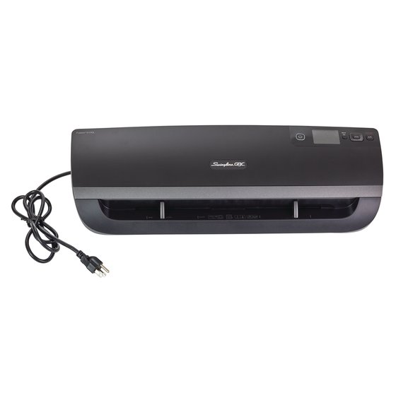 "Swingline® GBC® Fusion™ 5100L 12"" Laminator, 1 Min Warm-up, 1.5-10 Mil, Includes 50 EZUse™ Laminating Pouches"