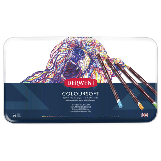 Coloursoft Pencils 36 Tin