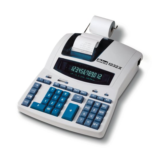 Calculatrice imprimante Ibico 1232X