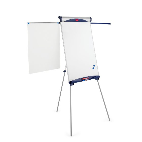 Classic Steel Tripod Magnetic Flipchart Easel with Extending Arms