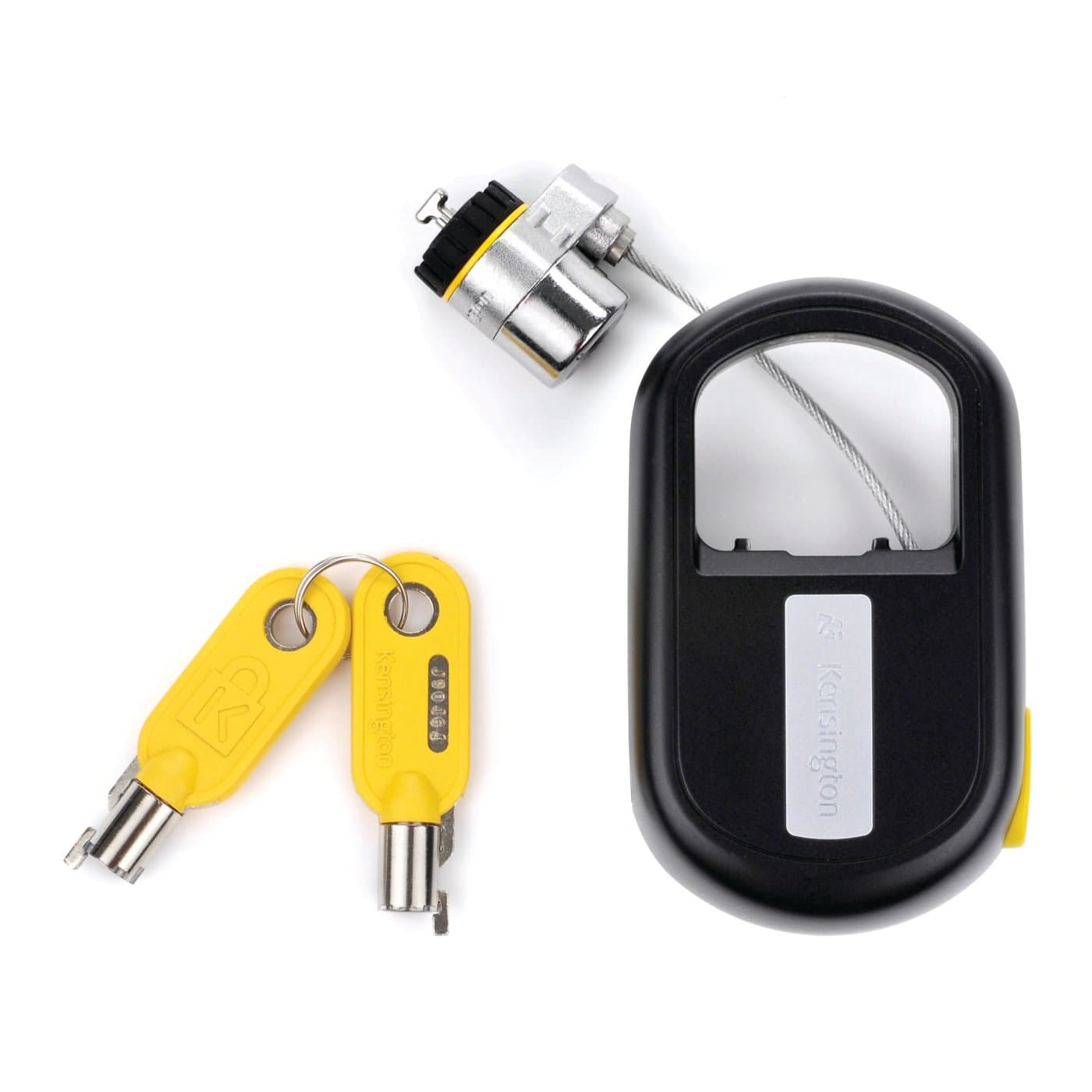 microsaver keyed laptop lock