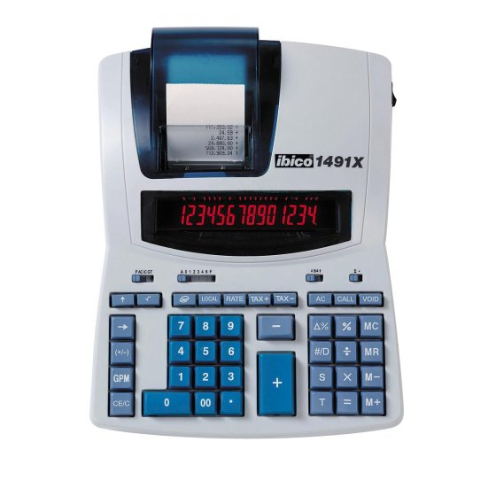 Calculatrice imprimante Ibico 1491X