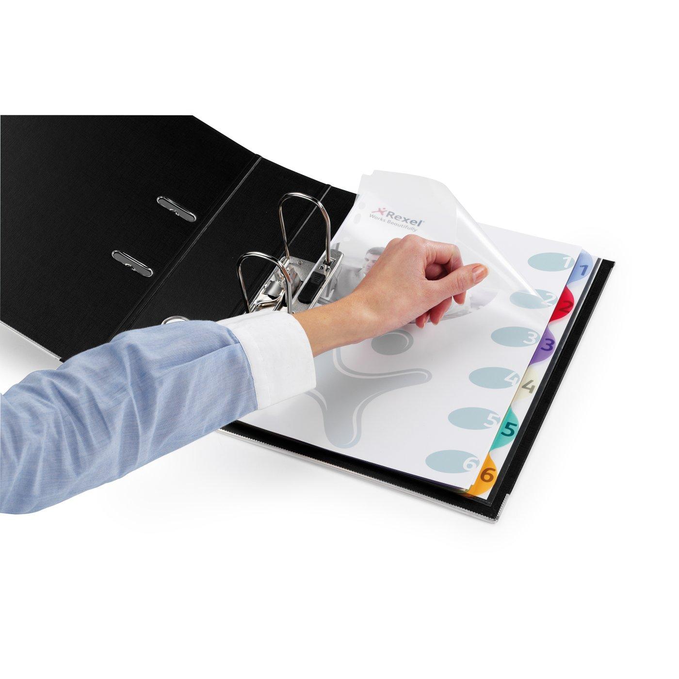 Rexel - Productos - Archivo - Índices y separadores - Separadores ...