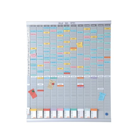 T-Card Planning Kit - Annual Planner 13 columns 54 slots