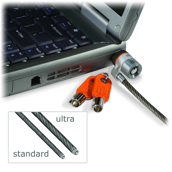 MicroSaver® Ultra-Laptopschloss – Master Keyed