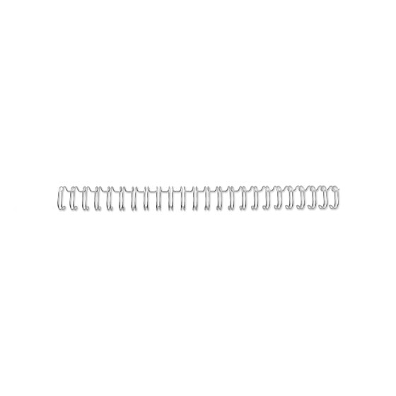 WireBind Wirespiraler A4 3:1 5 mm – silver (250)