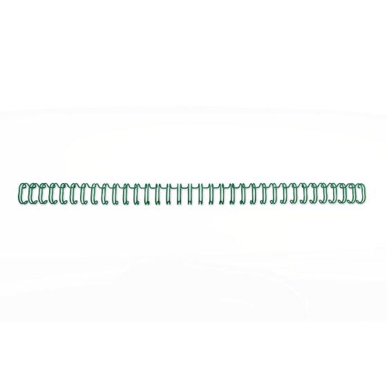 WireBind Binding Wires 2:1 No10 A4 Green (200)