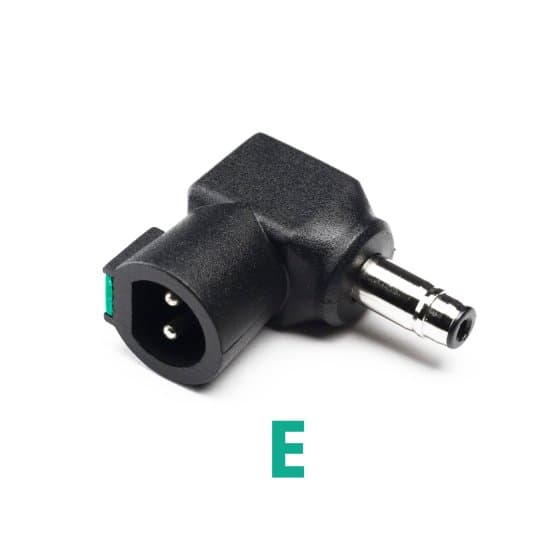 Laptop Power Charger Tip E