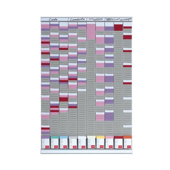 T-Card General Planning Kit 10 Panels 54 Slots