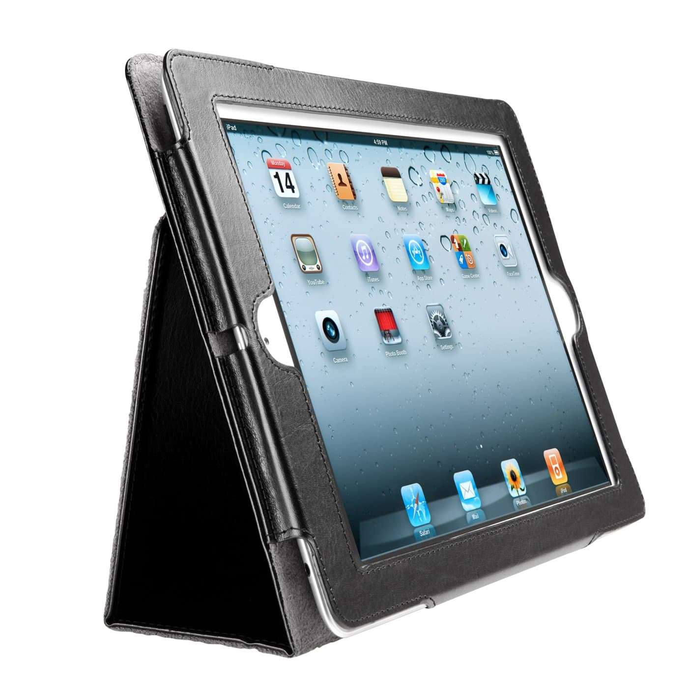 Kensington Products Tablet Smartphone Accessories Folios Cases Folio Case For Ipad 4th Gen 3rd Gen Ipad 2 Black
