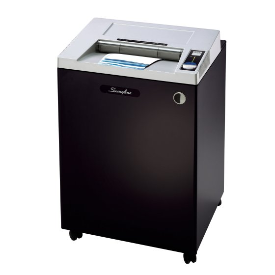 Swingline® TAA Compliant CS39-55 Strip-Cut Commercial Shredder, Jam-Stopper®, 39 Sheets, 20+ Users