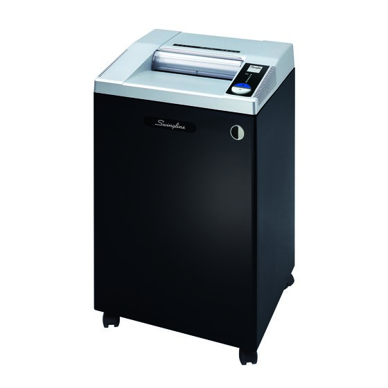 Swingline® TAA Compliant CX25-36 Cross-Cut Commercial Shredder, Jam-Stopper®, 25 Sheets, 20+ Users