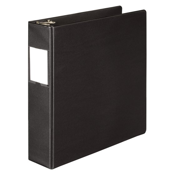 Wilson Jones® 383 Basic D-Ring Binders with Label Holder