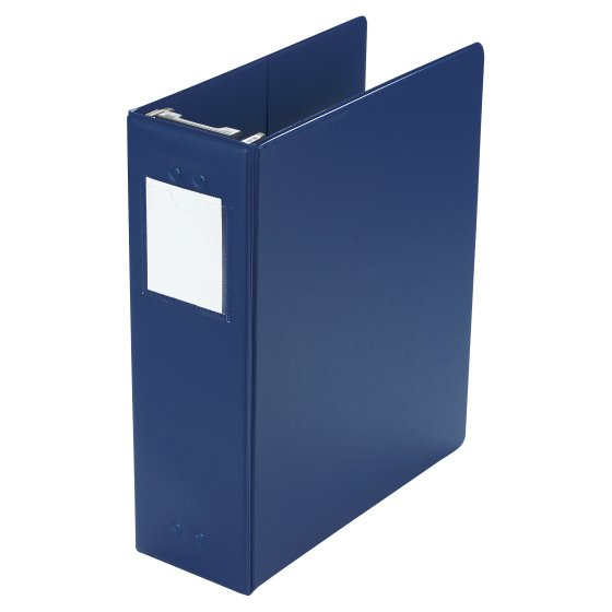 "Wilson Jones® Large Capacity Hanging Vinyl Binder, 2""/650 Sheet Capacity, Blue"